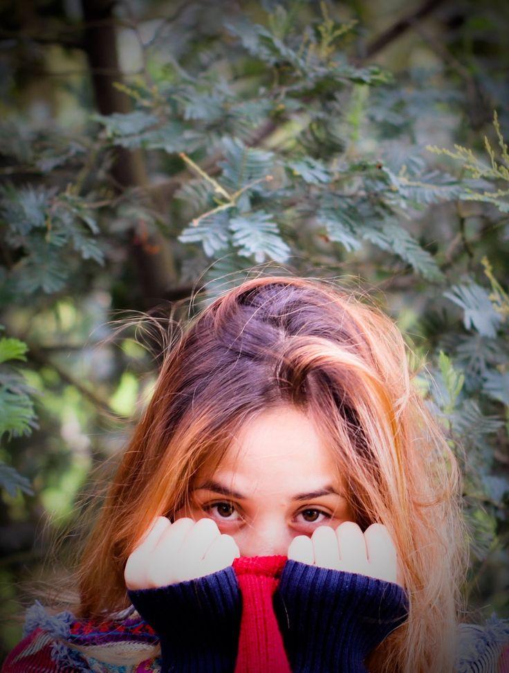 Ojos #eyes #bosque