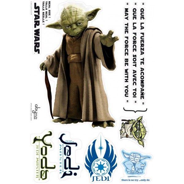 Maxi sticker Star Wars - Yoda - Déco de Rêve