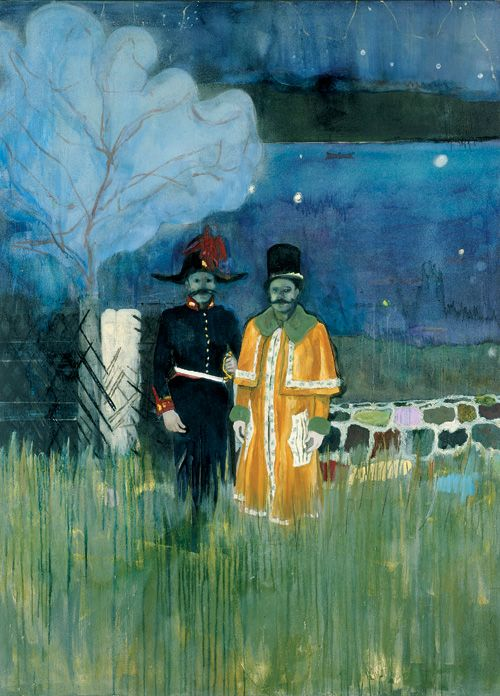I still think a lot about the Peter Doig exhibition I saw in Paris a few years ago. It blew me away.
