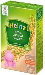 Хайнц Первая овсяная кашка с 5 мес. 180г  — 91р. --------------- Овес содержит антиоксиданты, которые повышают иммунитет малыша, стимулирует обменные процессы в организме. Овсяная каша благоприятно влияет на желудочно-кишечный тракт, имеет обволакивающее действие.     Продукт содержит только натуральные ингредиенты:   Без ароматизаторов  Без консервантов  Без красителей  Без ГМО     Продукт дополнительно обогащен:  …