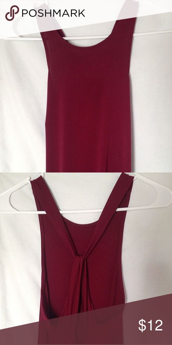 Long Dress Reddish, maroon long dress worn once for prom! Size small and material is stretchy. ATTENTION: PLEASE READ FIRST POST FOR DETAILS, I DONT SHIP OR ACCEPT PAYMENT THROUGH THIS APP listing price is shipping price through usps and payments through pp Forever 21 Dresses Maxi