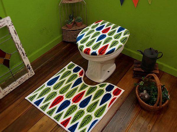 北欧 トイレマット  toilet mat