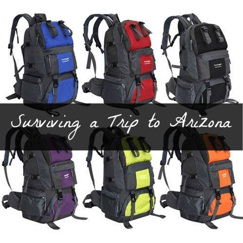 Arizona is a fantastic state! It's a great place to travel to, but can pose a few issues if you aren't prepared. Especially if you live in a cooler climate area or you aren't a fan of the heat. Try a few of these tips to help with the heat and dramatic climate in Arizona.