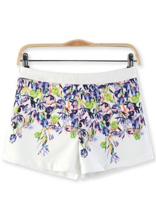 Chic Bloemen Shorts