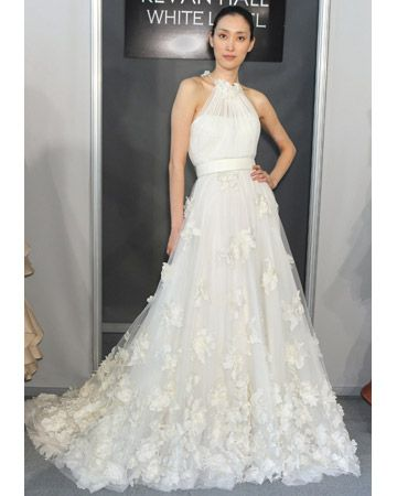 A-line Wedding Dresses from Spring 2012 Bridal Fashion Week    Kevan Hall    kevanhalldesigns.com