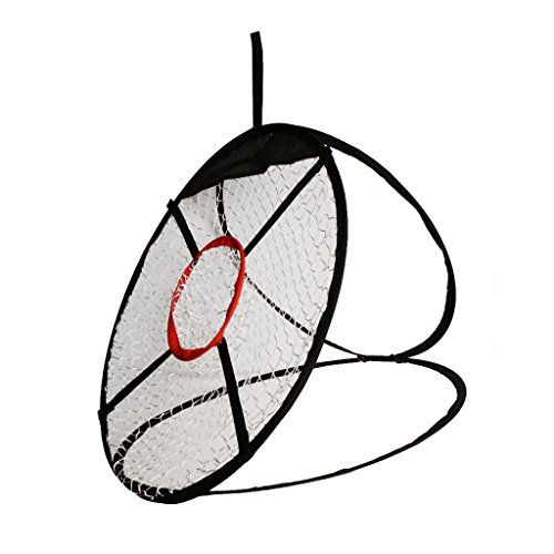 UK Golf Gear - MagiDeal Portable Pop up Golf Chipping Pitching Practice Net Training Aid Driver Tool