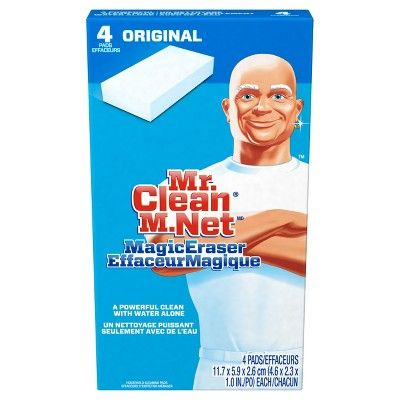 Mr. Clean Original Magic Eraser 4 count, White
