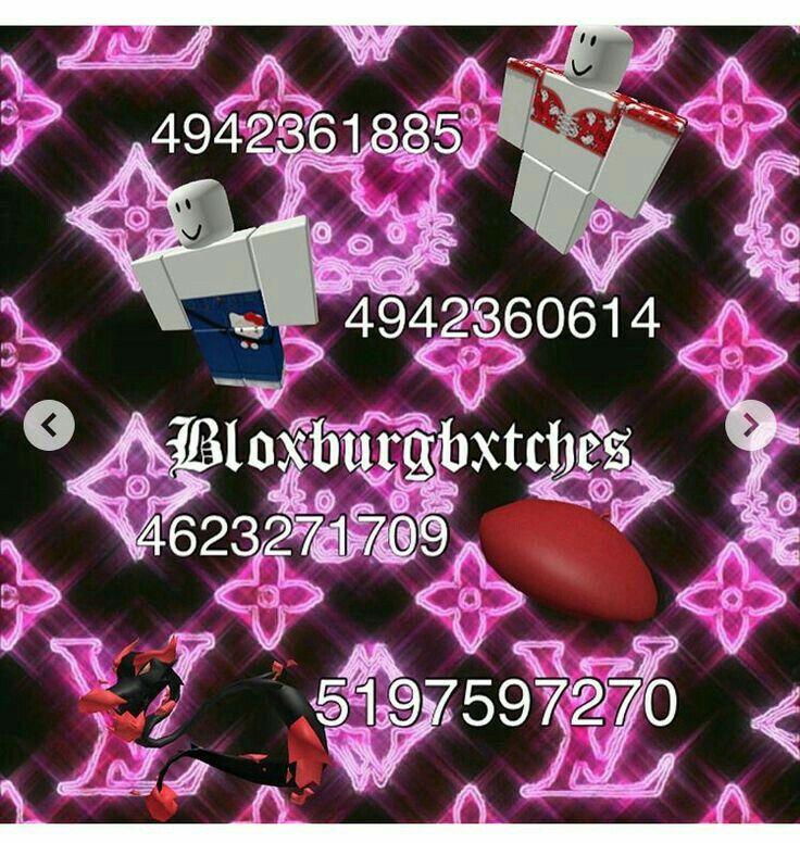 Pin by jocelyn 🧃📀🌿🪐🔮 on Bloxburg code♡ in 2020 Roblox