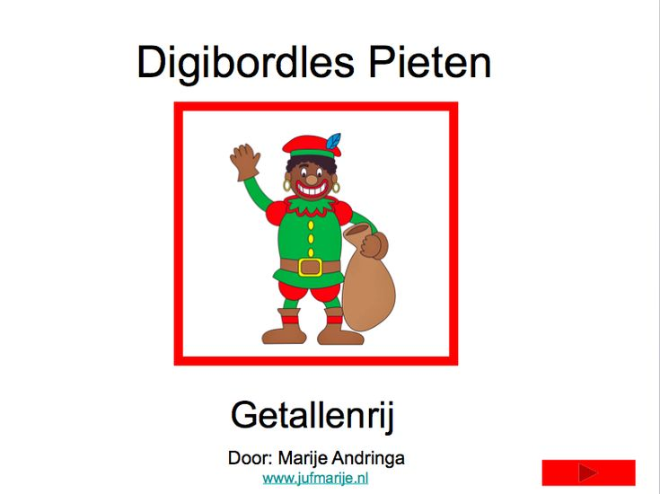 Digibordles over Zwarte Pieten