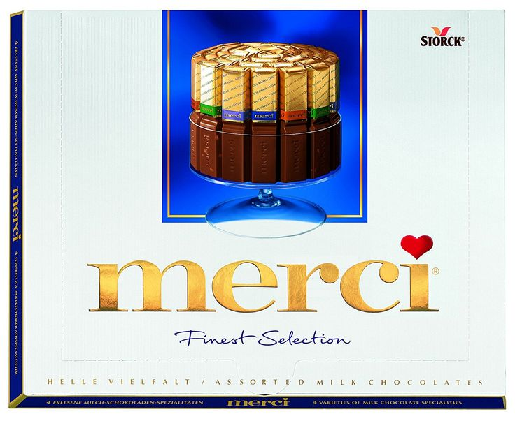 Storck Merci Milk Selection 250g * To view further for this item, visit the image link.