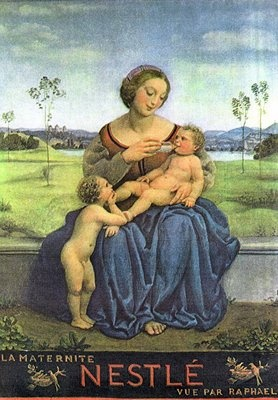 Nestle mother and child