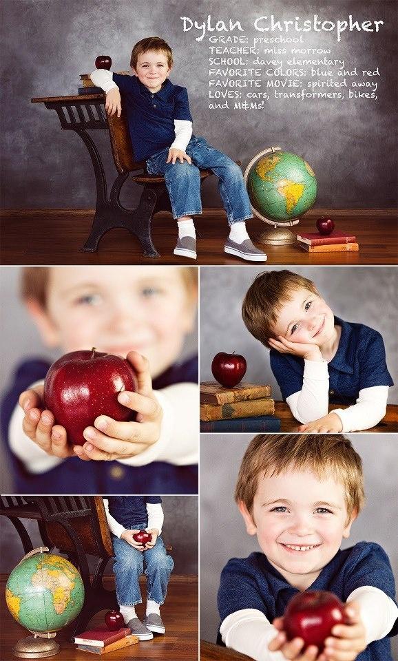 Preschool photo idea