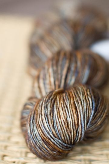 (madelinetosh in earl grey) Madrona: In Which I Buy Pretty Fibres | Caribou Knits