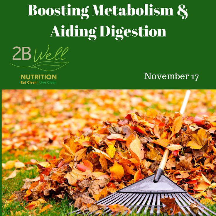Learn to optimize your metabolism