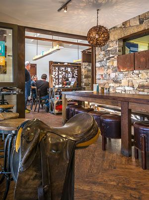 RABBIT TRAP TIMBER -CAFE FIT OUT for Palate Pleasure, Bowral