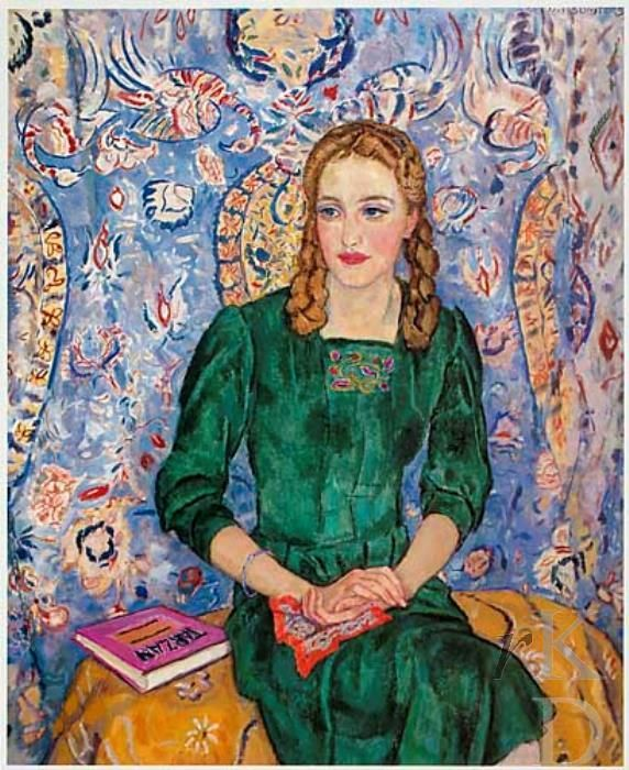 1938. Jan Sluijters  was a Dutch painter. Sluijters was a leading pioneer of various post-impressionist movements in the Netherlands. He experimented with several styles, including fauvism and cubism, finally settling on a colorful expressionism.
