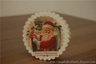 Felicitare de Crăciun MH016 / Christmas Greeting Card MH016