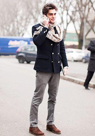 きれいめ×ピーコートの着こなし メンズ(メンズ) | Italy Web