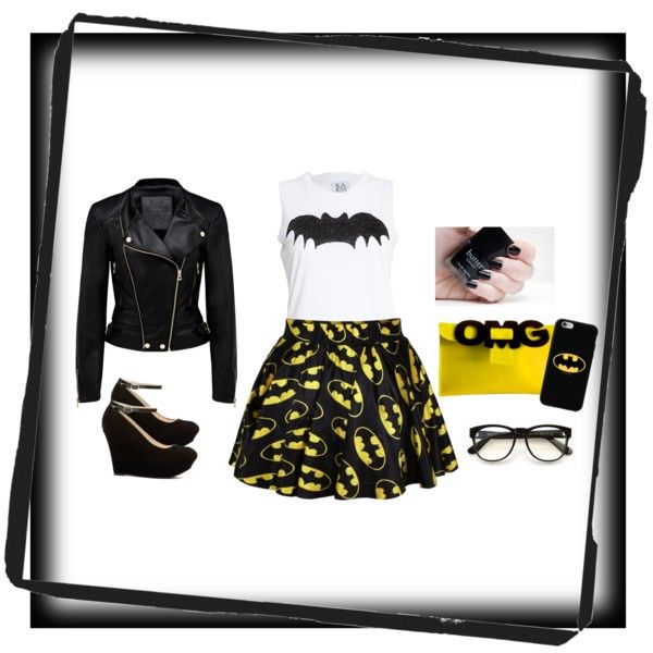 Batman themed outfit