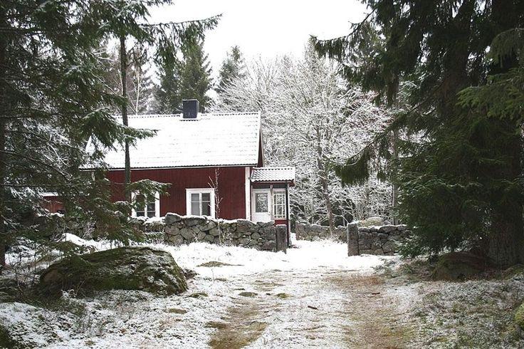 Swedish cottage Småland Fritidshus, Broakulla, Gustavsström, Broakulla