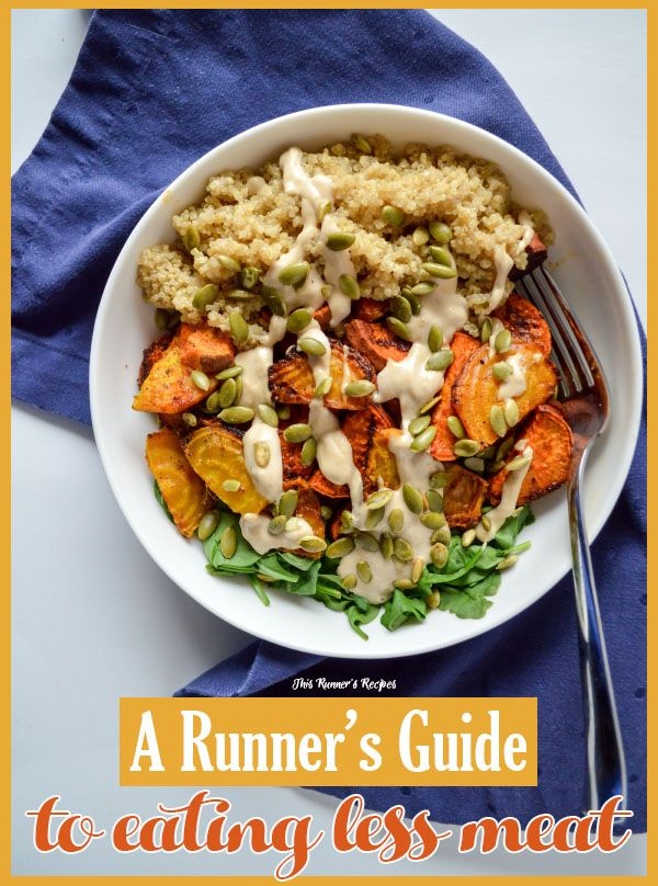 Runner's Guide on How to Eat Less Meat (Without Going Vegetarian)