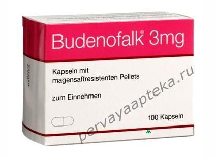 Буденофальк 3 мг цена, инструкция... Буденофальк купить в Москве...
