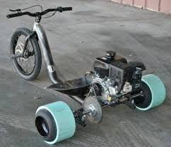 Afbeeldingsresultaat voor motorized drift trike