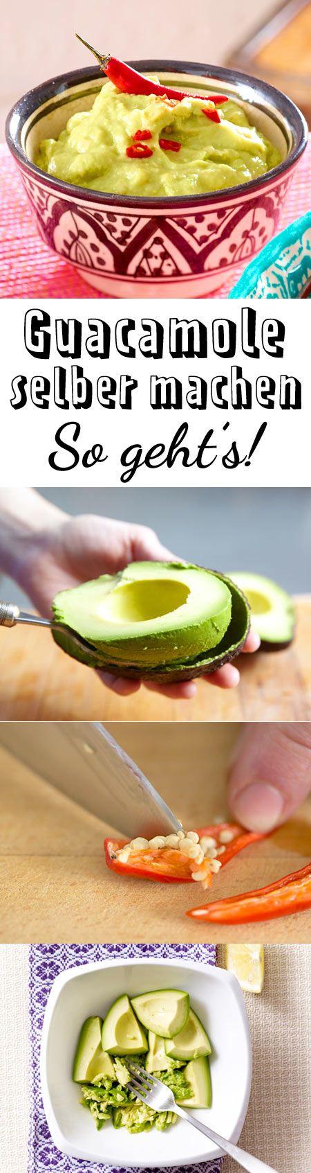 DER Klassiker, wenn es um Avocados geht. Wir zeigen, wie der mexikanische Dip gelingt.