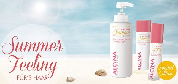 Free Sample Alcina After-Sun Shampoo (US only)