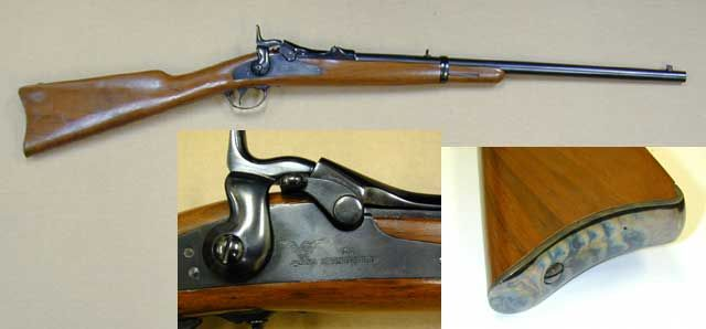 H&R 1873 Cavalry Model - US 1873 Springfield 45-70