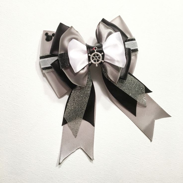 Steamboat willie deluxe inspired bow!