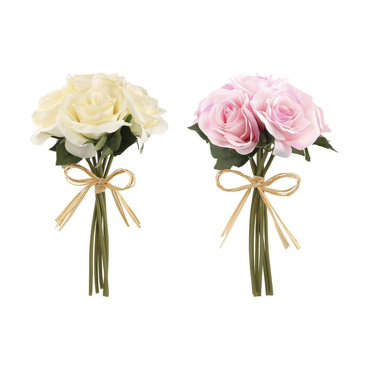 Artificial Flower Bunch Roses - Assorted | Kmart