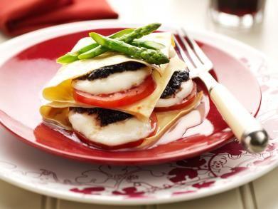 Lasagne mozzarella met tapenade (Libelle Lekker!)
