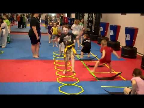 http://www.YouthFitnessGuy.com A game of toe fencing serves as a great activity either on it's own or as a pre-game/training activity for kids and young athl...