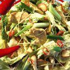 Thaise kip met groene kool - recept - okoko recepten