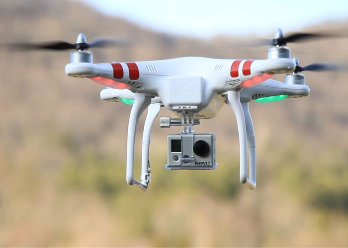 DJI Phantom Quadcopter w/ Camera Mount DJI Phantom Vision  #dji #phantomvision #quadcopter