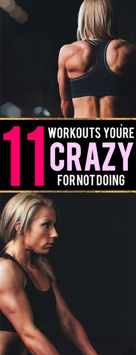 These workouts are AMAZING. You really are crazy for not trying one. SO simple and they don't require much, if any, equipment; PERFECT for working out at home!