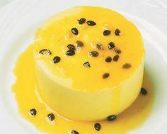 Mousse de maracuyá: una suave y dulce mousse con un sabor único y muy original