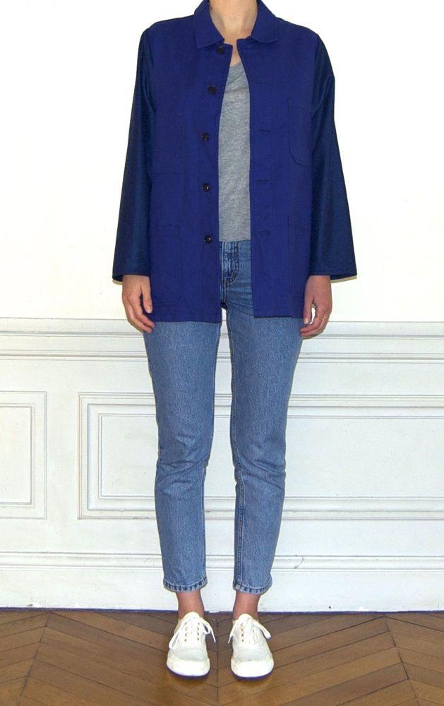 1000 ideas about bleu de travail on pinterest t shirts veste bleu and stetson. Black Bedroom Furniture Sets. Home Design Ideas