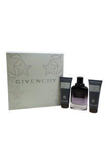 Givenchy Gentlemen Only Intense 3 Piece Set Includes: 3.3 oz Eau de Toilette Spray + 2.5 oz After Shave Balm + 2.5 oz Shower Gel