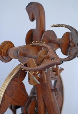 Golding Spinning Wheel 6076