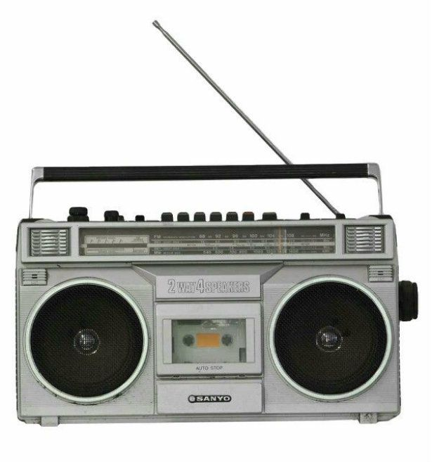 Old-technology_vintage-music-players_boombox Old-technology_vintage-music-players_boombox
