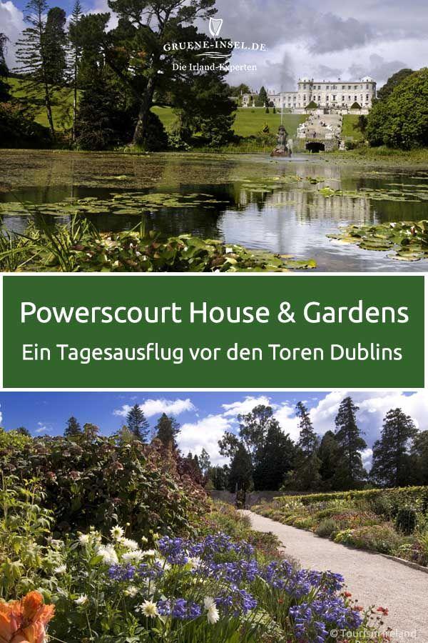 Powerscourt House And Gardens Irland Reise Irland Sehenswurdigkeiten Irland Urlaub