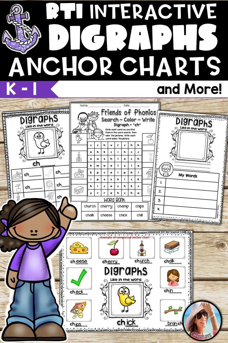 Digraphs Anchor Charts If You Build It They Will Learn