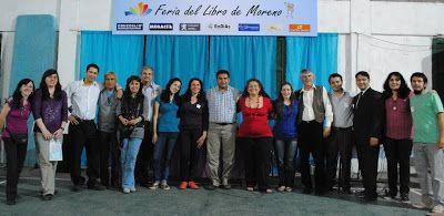 Feria del libro de Moreno Bibliotecarios de la Región Novena de la Prov. de Buenos Aires. Argentina. CENDIE y PPL: MORENO