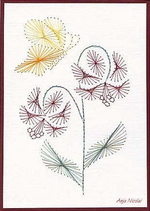 Первым годом, изонить схемы цветов для открытки