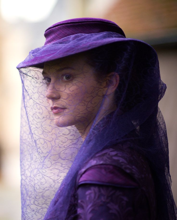 Mia Wasikowska as Emma Bovary in Madame Bovary (2015).