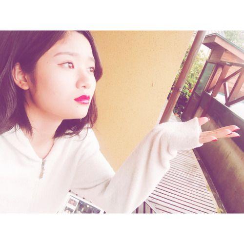 あーあ雨だねーこの後どーするんなにお家デートしたいしょうがないなー本当に郁海のこと好きだなー  #彼女とデートな... #Team8 #AKB48 #Instagram #InstaUpdate