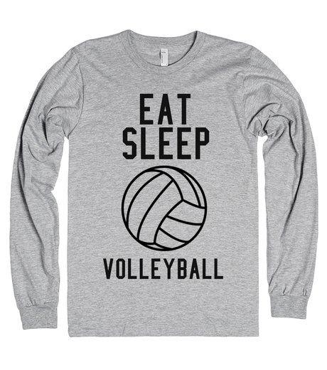 Eat Sleep Volleyball | | Cute Volleyball Shirt