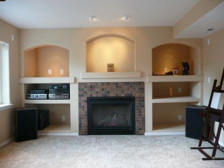 basement finishing ideas basement gas fireplace